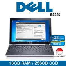 Refurbished Dell Latitude E6230 Laptop / 12.5 Inch / Intel i7 / 16GB RAM / 256GB SSD / One Month Warranty
