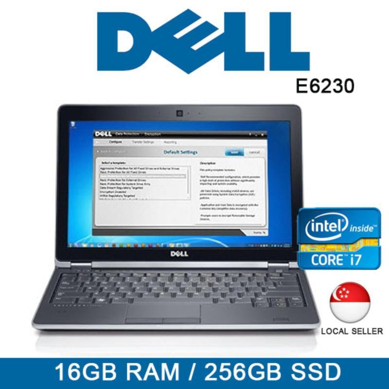 Refurbished Dell Latitude E6230 Laptop / 12.5 Inch / Intel i7 / 16GB RAM / 256GB SSD / One Month Warranty