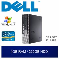 Brand New Refurbished Dell Opt 7010 Sff Desktop I3 4Gb Ram 250Gb Hdd W7 1Mth Warranty