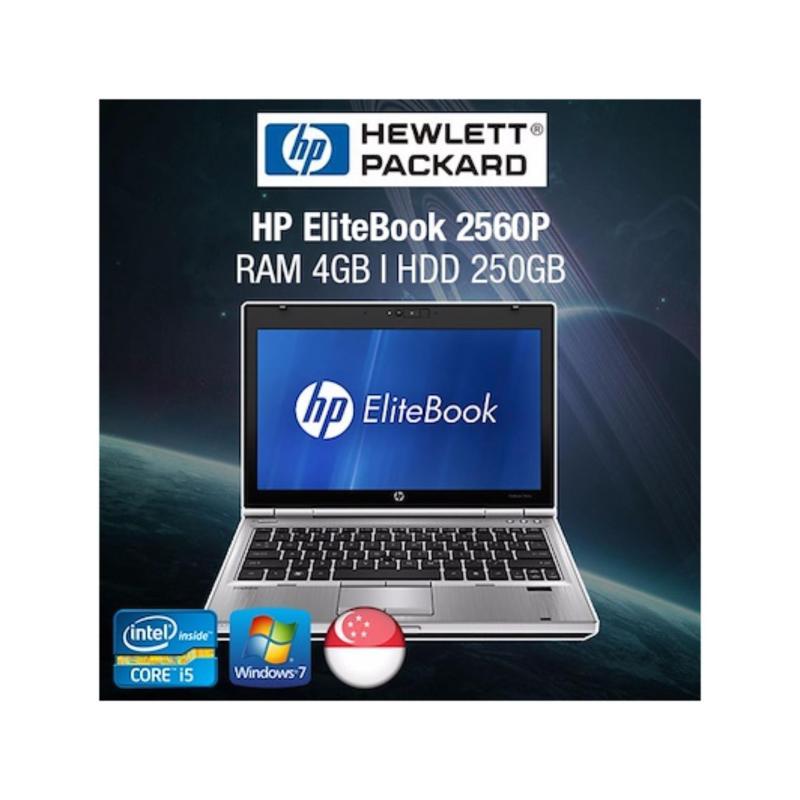Refurbished HP EliteBook 2560p 12.5in Laptop - i5 / 4GB RAM / 320GB HDD / Jap KB / W7 / 1mth Warranty