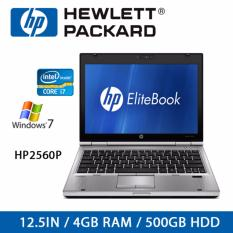 Discount Refurbished Hp2560P Laptop 12 5 Inch I7 4Gb Ram 500Gb Hdd Win 7 1 Month Warranty Hp On Singapore