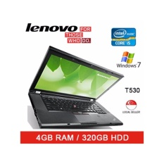Refurbished Lenovo T530 Laptop / 15.6 Inch / Intel i5 / 4GB RAM / 320GB HDD / Win 7 / 1 Mth Warranty