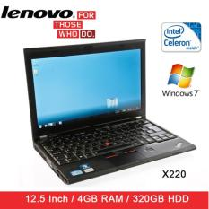 Refurbished Lenovo X220 Laptop / Celeron / 4GB RAM / 320GB HDD / Window 7 / 1mth Warranty