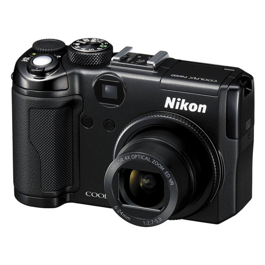 Buy Refurbished Nikon Coolpix P6000 13 5Mp Digital Camera With 4X Wide Angle Optical Vibration Reduction Vr Zoom Export Cheap Singapore