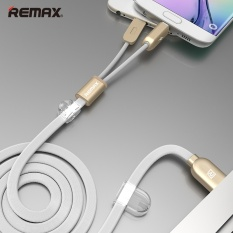 List Price Remax 2 In 1 Usb Cable Sync Chargeur Cable For Iphone Android Intl Remax