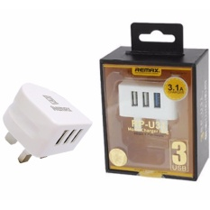 Price Comparisons Remax Fast Charging 3 Port 3 1A Usb Charger Adapter Intl