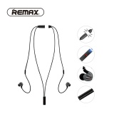 Best Deal Remax Neckband Apt X Sport Bluetooth 4 1 Tech Earphones Magnet Stereo Heavy Bass Running Headphone Pendant With Mic For Iphone Rb S8 Intl