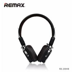 Remax Rb 200Hb Wireless Bluetooth 4 1 Stereo Headphones With Microphone Wireless Wired Black Review