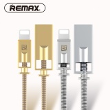 Remax Royalty Zinc Alloy Lightning To Usb 2 1A Charger Data Transfer Cable Spring Steel Wire For Iphone 5 6 7 With Classical Box Intl Compare Prices