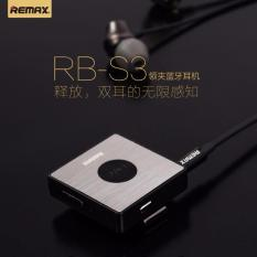 Remax S3 Clip On Bluetooth Earphone Receiver Black Online