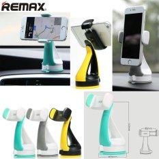 REMAX Universal car phone holder multifunction 360 Degrees Rotating car Navigation Bracket stands For iphone Samsung