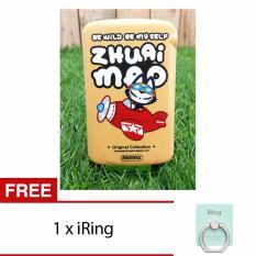 Sale Remax Zhuai Mao 2 1A 10000Mah Dual Usb Emoji Power Bank Singapore Cheap