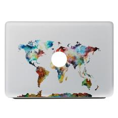 Removable Super-thin Laptop Partial Skin Decal Sticker Decoration for Apple Macbook 13.3air 13.3pro 13.3retina Style F - intl