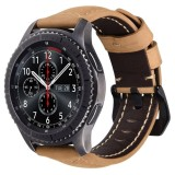 Sale Replacement Crazy Horse Soft Genuine Leather Strap For Samsung Gear S3 Classic Sm R770 S3 Frontier Sm R760 Sm R765 Smart Watch Band Intl