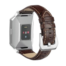Replacement Genuine Leather Wristband Strap Compatible with Fitbit Ionic Smart watch - intl
