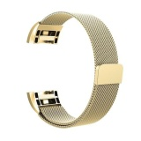 Recent Replacement Milaneseloop Stainless Steel Metal Bracelet Strap With Unique Magnet Lock For Fitbit Charge 2 Smart Wristband S Intl