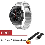 Purchase Replacement Stainless Steel Strap Band For Gear S3 Classic Frontier Metal Clasp Intl Online