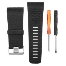 Best Price Replacement Watch Band Strap W Buckle Tool For Fitbit Surge Tracker Wristband L Intl