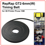 Discount Reprap Gt2 Timing Belt 6Mm Wide 2Mm Pitch 2Gt For 3D Printer Prusa 10M