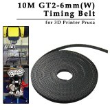 Reprap Gt2 Timing Belt 6Mm Wide 2Mm Pitch 2Gt For 3D Printer Prusa 10M Bi102 Compare Prices