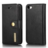 Discount Retro Real Genuine Leather Case For Apple Iphone 5 5S Cases Luxury Stand Magnetic Flip Phone Cover Case Black Intl Oem China