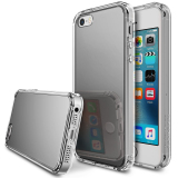 Best Offer Ringke Fusion Mirror Back Cover Case For Apple Iphone Se 5S 5 Silver Intl