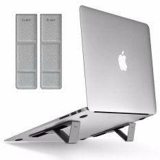 Ringke Laptop Stand, Universal Smart Folding Multi Angle Adjustable Portable Slim Adhesive Stand Holder for Laptop, Notebook, Tablet, iPad, More Devices - intl