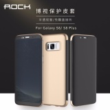 Low Cost Rock Hard Plastic Transparent Clear Visible Full View Window Flip Cover For Samsung Galaxy S8 Intl