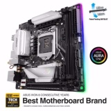 Retail Price Rog Strix Z370 I Gaming Intel Z370 Mini Itx Gaming Motherboard With Addressable Aura Sync Rgb Led Lighting 802 11Ac Wi Fi Ddr4 4333Mhz Support Dual M 2 Sata 6Gbps And A Usb 3 1 Gen 2 Front Panel Header