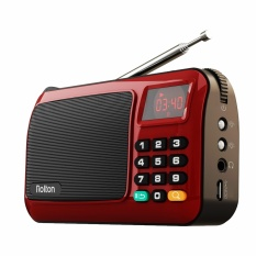 Price Comparisons Of Rolton W405 Portable Mini Fm Radio Speaker Music Player Tf Card Usb For Pc Ipod Phone With Led Display Intl