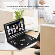 Rotatable 9 Inch Portable Lcd Widescreen Dvd Video Player Fm Radio Game Kit Sd Usb Av Cd Eu Plug Intl On Line
