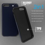 Discount Roybens Anti Skid Anti Knock Carbon Fiber Pattern Soft Case Cover For Iphone 7 Plus Navyblue Intl Roybens On China