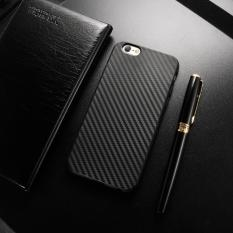 Price Roybens Carbon Fiber Soft Rubber Slim Back Case Cover For Apple Iphone 6 Plus 6S Plus 5 5Inch Black Intl Roybens China