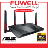 Who Sells Asus Rt Ac88U W L Ac3100 Dual Band Gigabit Wifi Gaming Router With Mu Mimo Supporting Aiprotection Network Security By Trend Micro Wtfast Game Accelerator Cheap