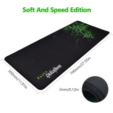 Sale Rubber Razer Goliathus Mantis Speed Edition Gaming Mouse Pad Game Pc Mat Large Xl Size 700 300 3Mm Intl Oem Cheap