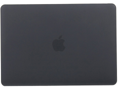 Rubberized Matte Hard Shell Protective Carry Case Cover for Macbook Air 13 Inch (Black) - Intl