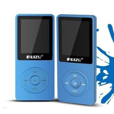 Review Ruizu X02 8Gb Mp3 Player Voice Recording Radio Fm Video Ebook(Blue) Intl Ruizu On Hong Kong Sar China