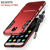 Rzants For Galaxy J7 Pro Case With Lanyard Armor Series Shockproof Kickstand Hard Back Cover For Samsung Galaxy J7 Pro Intl Reviews