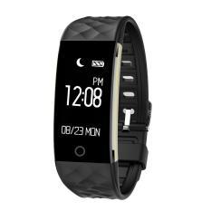 S2 Smart Band Wristband Bracelet Heart Rate Pedometer Sleep Fitness Tracker Black Intl For Sale