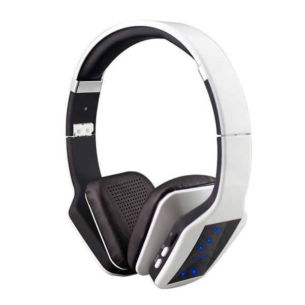 S650 Wireless Bluetooth Headphone 3D Stereo Subwoofer LED Light (White) Singapore