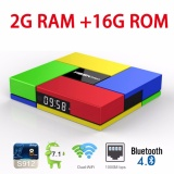 Sale S912 Mix T95K Pro Android 7 1 Tv Box Octa Core Amlogic S912 With Dual Band Wifi 2 4Ghz 5 8Ghz Bluetooth 4 Ram 2Gb Rom 16Gb Intl Bluesky Wholesaler
