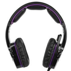 Price Comparison For Sades Sa 930 3 5Mm Gaming Headsets With Microphone Noise Cancellation Music Headphones Black Purple For Ps4 New Xbox One Laptop Tablet Pc Mobile Phones Intl