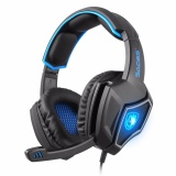 Low Price Sades Spirit Wolf 7 1 Surround Stereo Usb Wired Gaming Headset With Microphone Intl