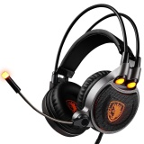 Sale Sades Usb 7 1 Digital High Definition Stereo Surround Computer Headset Gaming Headphone Black Silvery Intl Oem Branded