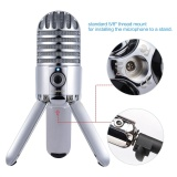 Where To Buy Samson Meteor Mic Studio Desktop Recording Condenser Microphone Fold Back Legs Design With Usb Cable Carrying Bag For Computer Notebook Tablet Pc Outdoorfree Intl