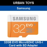 Get The Best Price For Samsung 32Gb Evo Microsdhc Uhs I Card With Sd Adapter 48Mb S Transfer Speed
