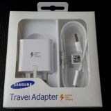 New Samsung Adaptive Fast Charging Wall Charger 3 Pin White Ep Ta20