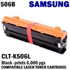 Best Deal Samsung Clt K506L Black Compatible Laser Toner Cartridge Prints 6K Pages