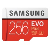 Retail Samsung Evo Micro Sdxc Ush 1 U3 256Gb Class10 100M S Card Intl