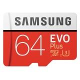 Samsung Evo Plus Micro Sdhc Ush 1 U3 64Gb Class10 Fhd 100M S Red Intl Best Price